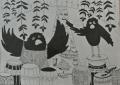 Воропаева Мария 12 лет Иллюстрация к китайской сказке пр пр Кузьмина ДХШ 2 Новосибирск